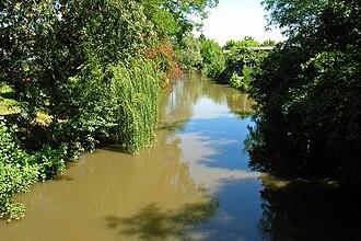 Terdoppio - The torrente Terdoppio at Tromello