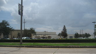 Oakwood Center - Main entrance seen from Terry Parkway.