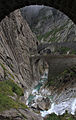 Teufelsbrücke (Devil's Bridge) high in the Swiss Alps.JPG