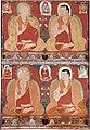Thangka Depicting Four Kagyu Masters, Tibet, circa 1225.jpg