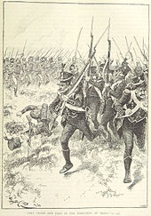 Battle of maida wikipedia the 1st light starts to break drawing from an english book sciox Images