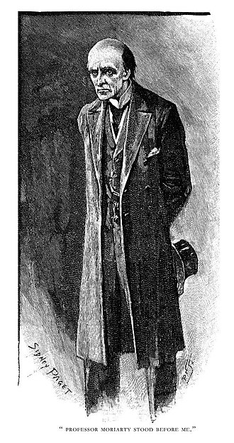 "Professor Moriarty from the Sherlock Holmes story ""The Final Problem"" The Adventure of the Final Problem 03.jpg"
