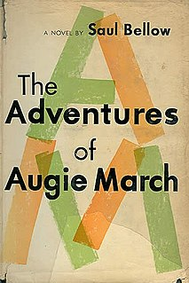 <i>The Adventures of Augie March</i> 1953 novel by Saul Bellow
