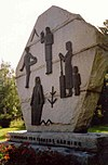 The Ancestor Monument in Närpes, Finland..jpg