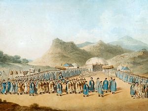 The Approach of the Emperor of China to His Tent in Tartary to Receive the British Ambassador (brightened).jpg