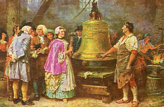 Liberty Bell - The Bell's First Note by Jean Leon Gerome Ferris
