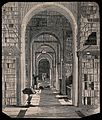 The British Museum; the incunabula room of the library, with Wellcome V0013872.jpg