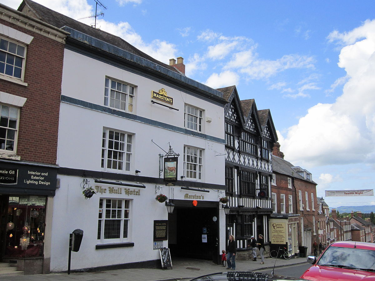 The Bull Hotel Ludlow Wikipedia