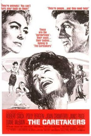 Description de l'image  The Caretakers (1963 movie poster).jpg.