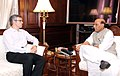 The Chief Minister of Jammu & Kashmir, Shri Omar Abdullah calling on the Union Home Minister, Shri Rajnath Singh, in New Delhi on October 14, 2014.jpg