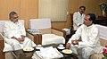 The Chief Minister of Madhya Pradesh, Shri Shivraj Singh Chauhan meeting the Union Minister for Rural Development and Panchayati Raj, Shri C.P. Joshi, in New Delhi on June 02, 2009.jpg