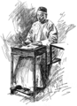 The Chinese secretary by Henry Summer Watson.png