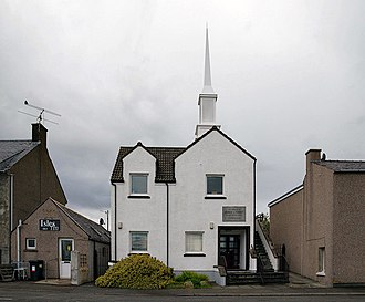 The Church of Jesus Christ of Latter-day Saints in Scotland - Stornoway branch.