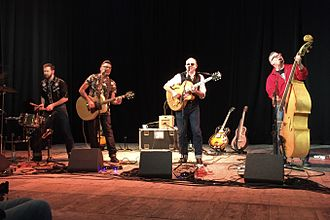 The Dodge Brothers - The Dodge Brothers at the Shelley Theatre, Bournemouth, February 2016