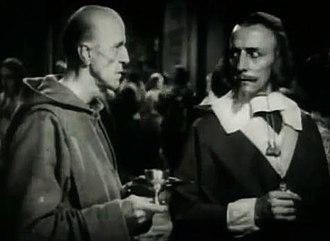 Lon Poff - Lon Poff (left) in The Iron Mask, 1929