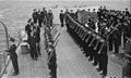 The King Pays 4-day Visit To the Home Fleet. 18 To 21 March 1943, at Scapa Flow, the King, Wearing the Uniform of An Admiral of the Fleet, Paid a 4-day Visit To the Home Fleet. A15115.jpg