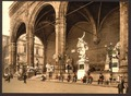 The Lodge of the Lancers (i.e. Loggia dei Lanzi), Florence, Italy-LCCN2001700796.tif