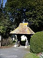 The Lychgate at Holy Trinity Church, Wonston - geograph.org.uk - 139925.jpg