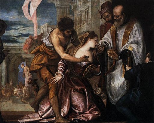 The Martyrdom and Last Communion of Saint Lucy 1582 Veronese