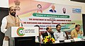 The Minister of State for Chemicals & Fertilizers, Shri Hansraj Gangaram Ahir addressing at the signing ceremony of an agreement between the Department of Fertilizers and FACT, in New Delhi.jpg