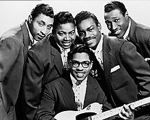 The Moonglows in 1956
