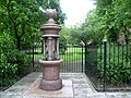 The Nelsons drinking fountain next to St Thomas Square (geograph 4015171).jpg