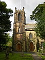 The Parish Church of St Stephen, Lindley, Tower - geograph.org.uk - 1468207.jpg