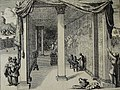 The Phillip Medhurst Picture Torah 497. Inside the tabernacle. Exodus cap 40 vv 21-28. Brugghe.jpg