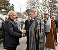 The Prime Minister, Shri Narendra Modi meeting the former President of Afghanistan, Mr. Hamid Karzai, in Kabul, Afghanistan on December 25, 2015.jpg