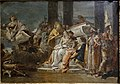 The Sacrifice of Iphigenia, by Giovanni Battista Tiepolo (studio), 1735-1740, oil on canvas - University of Arizona Museum of Art - University of Arizona - Tucson, AZ - DSC08113.jpg