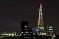 The Shard during it's opening laser light show 2.jpg