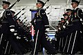 The U.S. Air Force Honor Guard Drill Team rehearses for the 57th presidential inauguration 130111-F-FF749-885.jpg