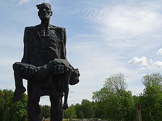 Khatyn massacre - Another view of the statue.