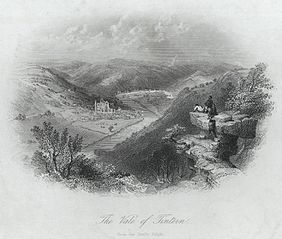 The Vale of Tintern, from the Devil's Pulpit