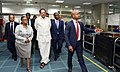 The Vice President, Shri M. Venkaiah Naidu visiting the Diamond Trading Company Botswana, in Gaborone, Botswana on November 02, 2018.JPG