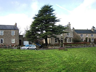 Cotherstone - Image: The Village Green at Cotherstone geograph.org.uk 1593177