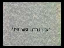 Description de l'image The Wise Little Hen.png.