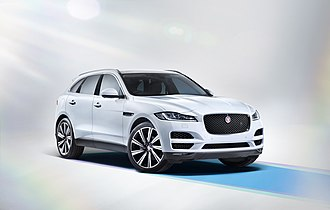 Jaguar F-Pace - Image: The all new Jaguar F PACE Studio (21417287365)