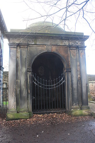 William Robertson (historian) - The mausoleum of William Robertson, Greyfriars Kirkyard