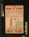 The scrap of paper - Prussia's perfidy - Britain's bond (...) Enlist to-day LCCN2003662922.tif