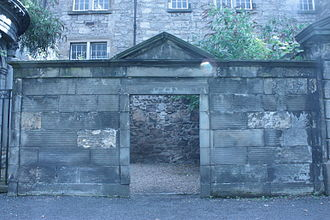 Patrick Miller of Dalswinton - The tomb of Patrick Miller of Dalswinton, Greyfriars Kirkyard