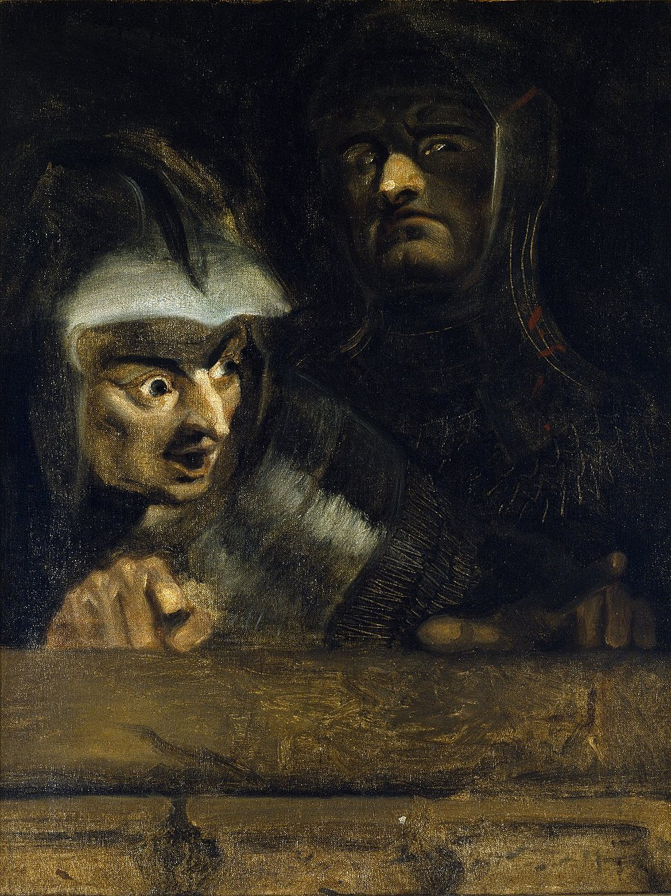 The two murderers of the Duke of Clarence