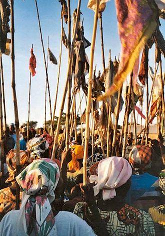 Kapsiki people - Image: The women during the year festival in Mogode. Kapsiki