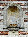 Therdonne (60), église Saint-Ouen, façade occidentale, niche.jpg