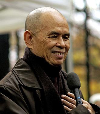 Thích Nhất Hạnh - Thích Nhất Hạnh in Paris in 2006