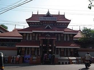 Thiruvambadi Sri Krishna Temple - Image: Thiruvambadi Temple 0213