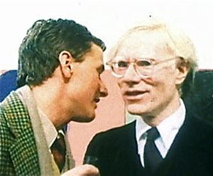 English: Andy Warhol and Thomas Ammann, 1978