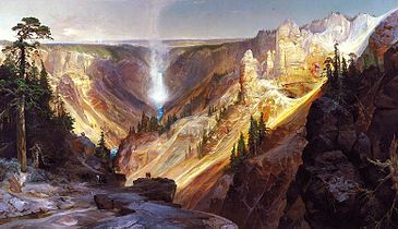 Thomas Moran - Grand Canyon of the Yellowstone.jpg