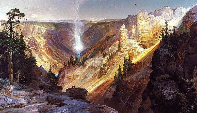 File:Thomas Moran - Grand Canyon of the Yellowstone.jpg