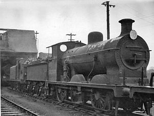Three Bridges Locomotive Depot Brighton line 0-6-0 geograph-2651975-by-Ben-Brooksbank.jpg